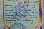 Afghanistan – visa, 2002