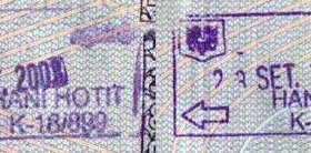 Albania – passport stamps, 2003 post image