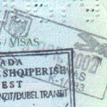 Albania 2002 – crossing the border at the airport thumbnail
