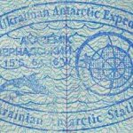 Antarctica – stamp from the Ukrainian polar station, 2001