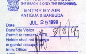 interesting facts about Antigua, visa to Antigua