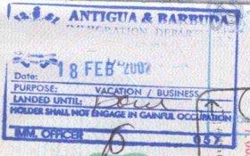 travels to Antigua