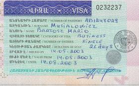 travels to Armenia
