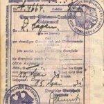 Austria – visa, 1931 thumbnail