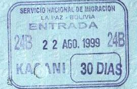 migration to Bolivia