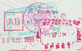Belarus – business visa AB, 1999 post image