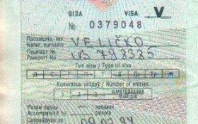 Belarus – visa and border stamps, 1997 post image