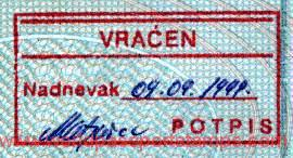 Croatia – removal from the border, 1999 post image