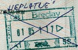 Czech Republic – removal from the border with a note in the passport post image