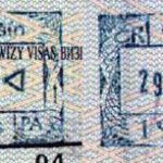 Czech Republic – stamps from border control in Cieszyn, 2003 thumbnail