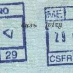 Czechoslovakia – border stamps, 1990 thumbnail