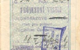 Czechoslovakia – visa and stamps, 1929 post image