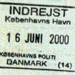 Denmark – the sea border crossing, 2000 thumbnail