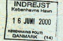 Denmark – the sea border crossing, 2000 post image
