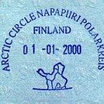 "Finland – anniversary stamp ""Arctic Circle"", 2000 thumbnail"