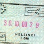 Finland – border crossing at the airport in Helsinki, 2000 thumbnail