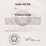 GDR – transit visa to the West Berlin thumbnail
