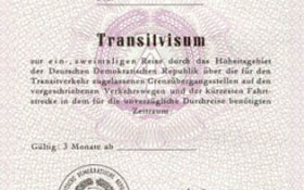 GDR – transit visa to the West Berlin post image