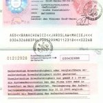 Germany – work permit, 2001 thumbnail
