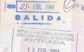 Equatorial Guinea – border stamps, 2003