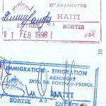visa to Haiti