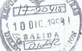 travels and visa to Honduras