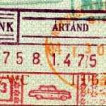 Hungary – border stamp, 1975 thumbnail