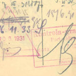 The Second Commonwealth of Poland – border stamps, 1931 thumbnail