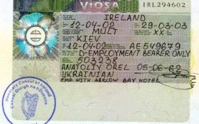 Ireland – visa, 2002 post image