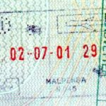 Italy – passport stamp, 2001 thumbnail