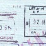 Lithuania – stamps of border control, 1992 thumbnail
