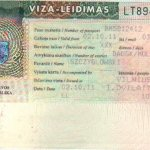Lithuania – visa, 2002 thumbnail