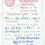 travels and visa to Marshall Islands