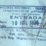 travels and visa to Paraguay