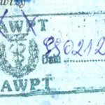 Poland – border stamp, 1999 thumbnail