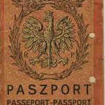 Poland – cover of the passport, 1929 thumbnail
