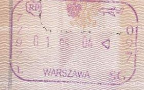 Poland – passport stamp, May 1, 2004 post image