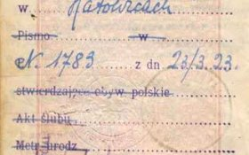 Poland – a notation in the passport, 1929 post image