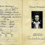 Poland – page with a photo of the passport, 1931 thumbnail