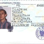 Poland – passport, issued by a consul in Hong Kong thumbnail