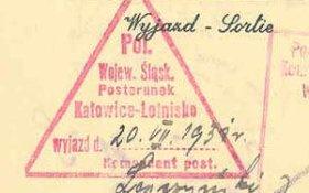 Poland – border stamp, 1931 post image