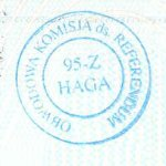Poland – passport stamp, 2004 thumbnail