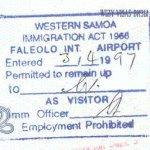 Samoa Western tourism travellings