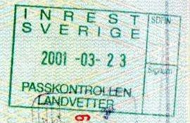 residence in Sweden