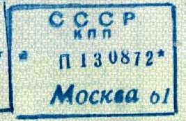 travels to USSR