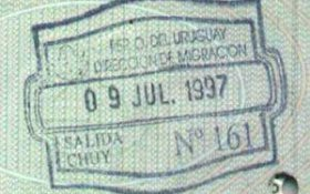 travels and visa to Uruguay