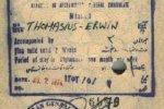 Afghanistan – visa, 1974