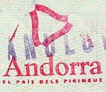 Andorra – a commemorative stamp, 1995 thumbnail