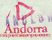 Andorra – a commemorative stamp, 1995 post image