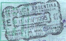 emigration to Argentina, visa to Argentina